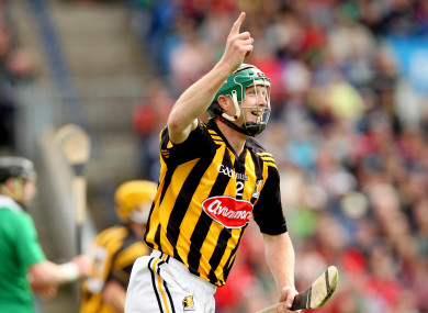 Henry Shefflin in action for Kilkenny in 2012.