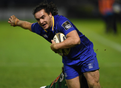 Lowe opened his Leinster account in style last weekend.