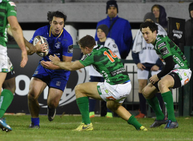 Lowe opened his Leinster account with a finish from close-range.