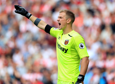 Joe Hart's hopes of featuring for England at the World Cup could be under threat.