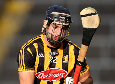 Kevin Kelly was the star of the show for Ballyragget.