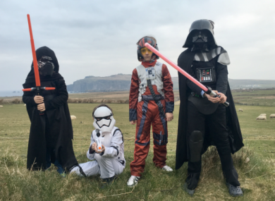 Ballyferriter is the home of Star Wars in Ireland this weekend.