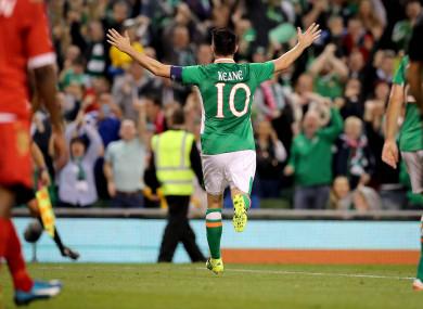 Robbie Keane (file pic).