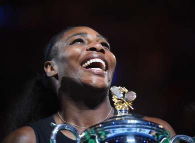 Serena Williams: one of the outstanding tennis players of the modern era.