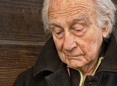 Image of: Worried File Photo Thejournalie Almost Half Of Older People Depressed In Months Before Death