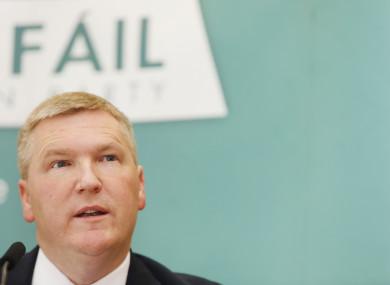 Fiann Fáil's Michael McGrath.