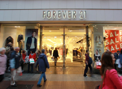 Forever 21 to close dublin store and pull out of ireland forever 21 in dublin solutioingenieria Gallery
