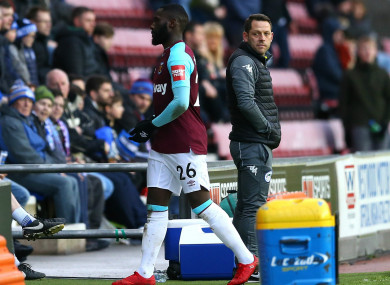 Masuaku heads for the tunnel.