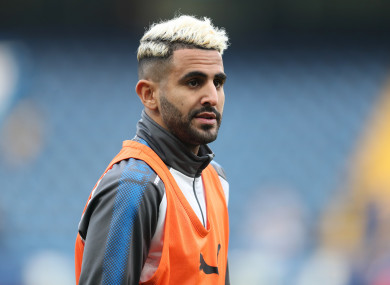 Riyad Mahrez has been linked with a move away from Leicester City.