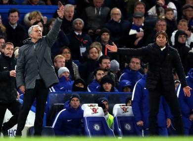 Mourinho and Conte.