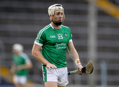 Limerick forward Cian Lynch was in action for Mary I today