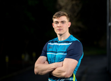 Ringrose pictured at Leinster HQ earlier this week.
