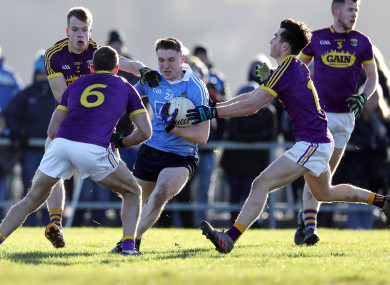 Wexford: encouraging win against experimental Dublin side - but both sides are eliminated.