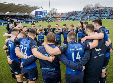 Leinster are the first team to qualify for the quarter-finals.