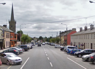 File photo of Main Street, Ballymahon