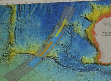 Teams have already searched a 120,000 square kilometre area.