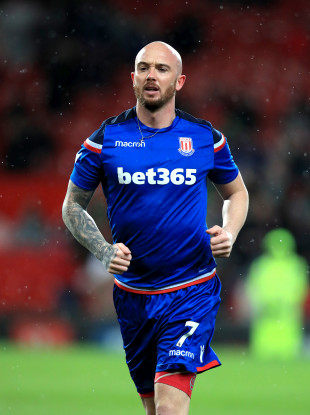 Stephen Ireland is playing in the Premier League tonight, completing a return from a long-term injury.
