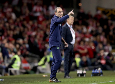 O'Neill has been in charge of Ireland since November 2013.