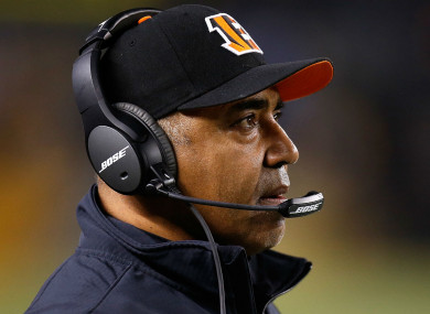 Cincinnati Bengals head coach Marvin Lewis.