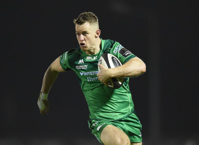 Healy has scored eight tries this season.