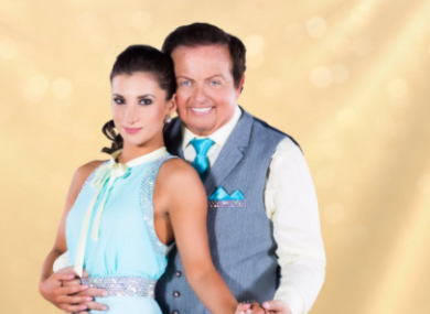 Marty Morrissey partners up with Ksenia Zsikhotska.