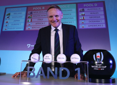 Joe Schmidt's side open their World Cup campaign against Scotland in September 2019.