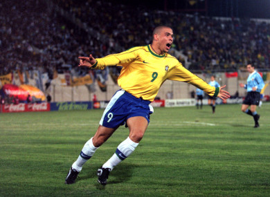 Ronaldo was one of the greatest players of his generation.