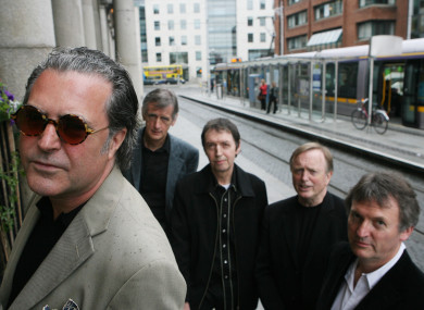 Horslips at the launch of a series of gigs back in 2009.