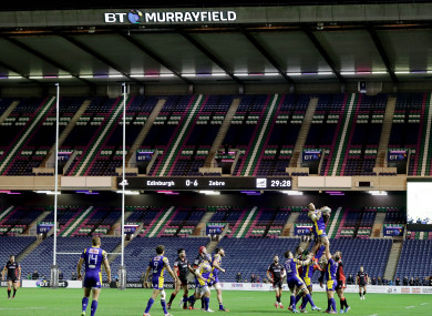 Edinburgh have played selected fixtures at the ground this season.