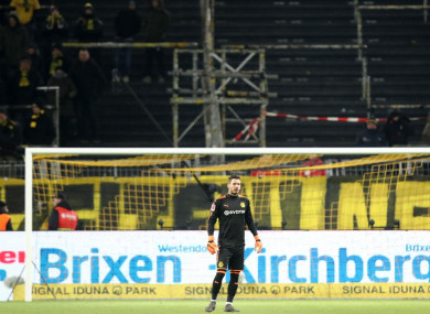 Thousands of Dortmund fans refused to attend their recent game with Augsburg.