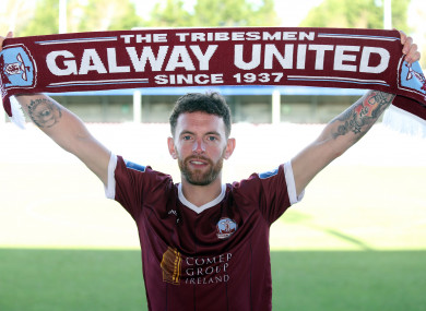 Danny Furlong has joined Galway United.