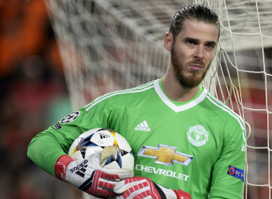 David de Gea has excelled for Man United in recent times.