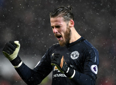 De Gea has been outstanding for United over several years.