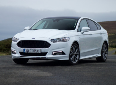 review ford mondeo st line is sporty on the outside but. Black Bedroom Furniture Sets. Home Design Ideas