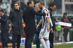 Juventus earn narrow win in Turin derby as Higuain limps off