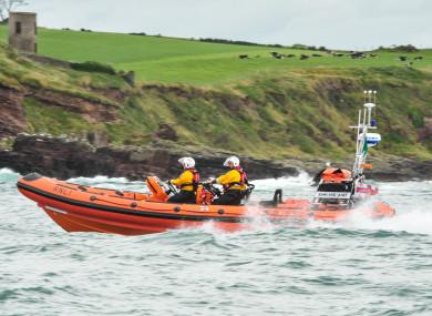 Crosshaven RNLI lifeboat