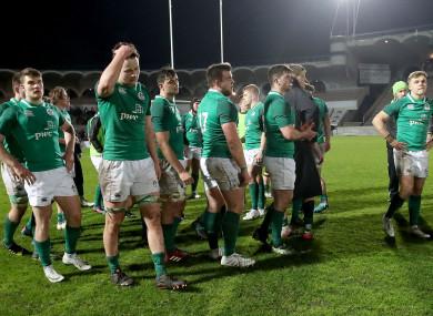 Despite a spirited second-half comeback, Ireland fell short in Bordeaux.