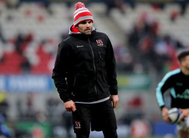 The Ireland international has been helping out on the coaching side of things at Ulster recently.