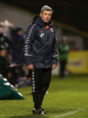 Bohemians manager Keith Long.