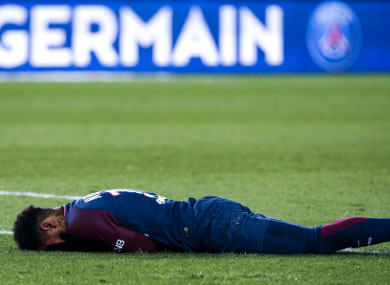 PSG star Neymar.