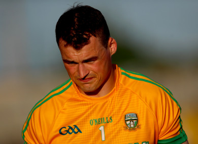 O'Rourke has been considering his inter-county career for some time.