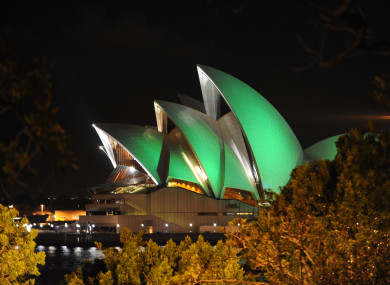 The Sydney Opera House in 2012.