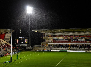 Kingspan Stadium was due to host the round 17 clash.