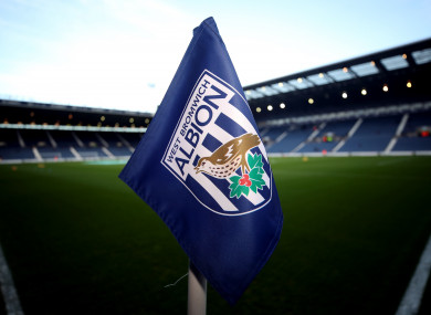 West Brom's home ground, The Hawthorns.