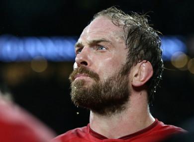 Alun Wyn Jones has returned to the Wales side.
