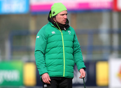 Ireland head coach Adam Griggs has named his team for this weekend.