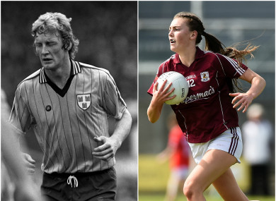 Áine McDonagh spoke about her late uncle Mick Holden.