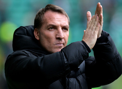 Rodgers says he is happy at Celtic.