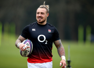 England and Exeter Chiefs wing Jack Nowell.