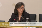 Policing Authority Chair Josephine Feehily told the committee that the authority assured the analysts that their concerns were being investigated.